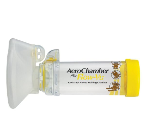 AeroChamber Amarilla Mediana