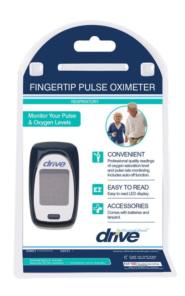 Oxímetro de pulso Drive